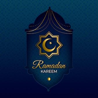 Realistica celebrazione del giorno del ramadan