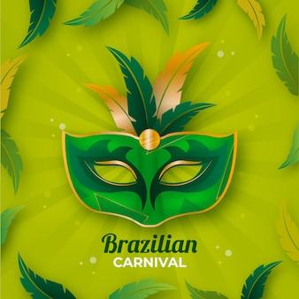 Realistico carnevale brasiliano