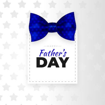 Realistico concetto di festa del papà