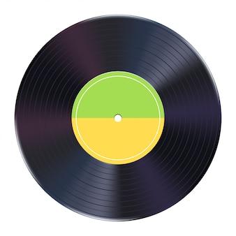 Realistico disco in vinile
