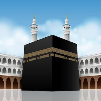 Realistico pellegrinaggio islamico