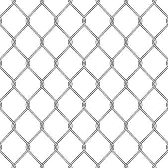 Realistico recinto di collegamento a catena in metallo