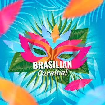 Realistico tema di carnevale brasiliano