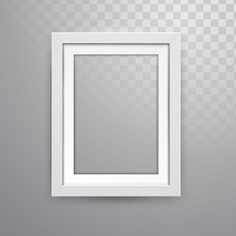 Realistico vector frame mockup