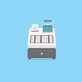 Registratore di cassa elettronico con ricevuta e cassetto dei soldi