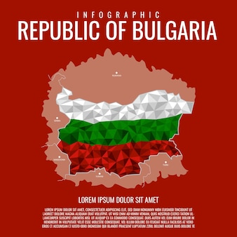 Repubblica di bulgaria infografica