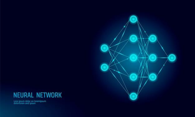 Rete neurale, sfondo di rete del neurone
