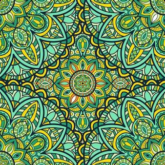Reticolo dell'ornamento di vettore della mandala