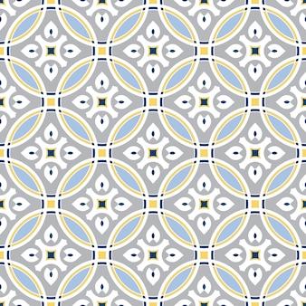 Reticolo delle mattonelle, priorità bassa senza giunte floreale decorativa variopinta
