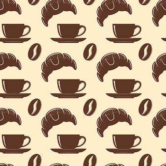 Reticolo senza giunte del caffè