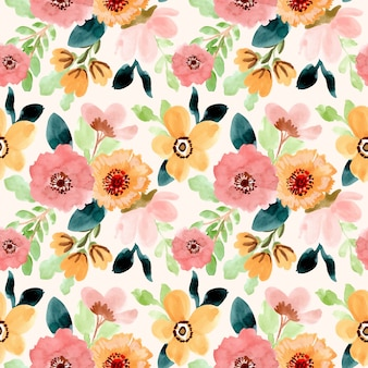 Reticolo senza giunte dell'acquerello del fiore dolce
