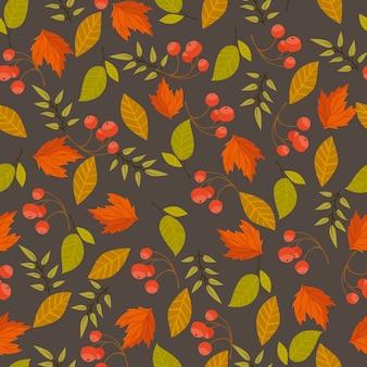 Reticolo senza giunte di autunno