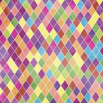 Retro fondo di progettazione geometrica astratta di stile di lerciume