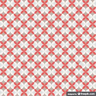 Retro pattern geometrico libero