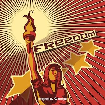 Retro propaganda rivoluzionaria