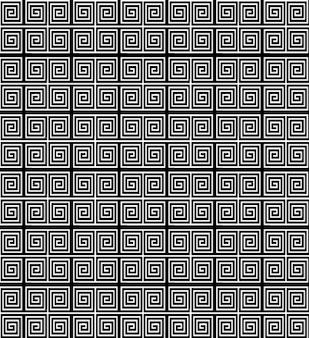 Retro romano seamless pattern