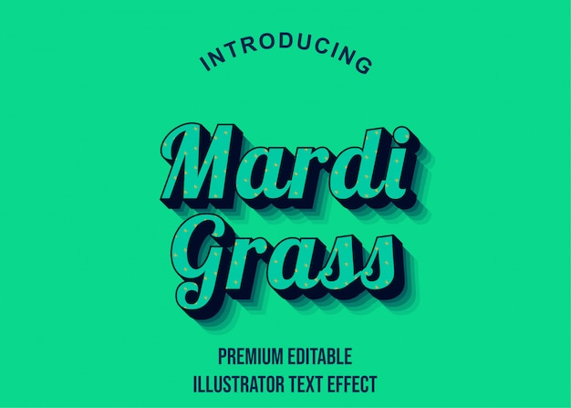 Retro - stile di carattere effetto testo illustrator 3d