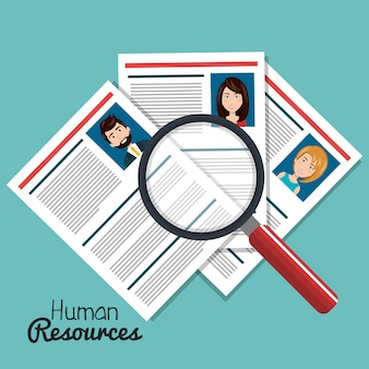 Ricerca delle risorse umane isolata