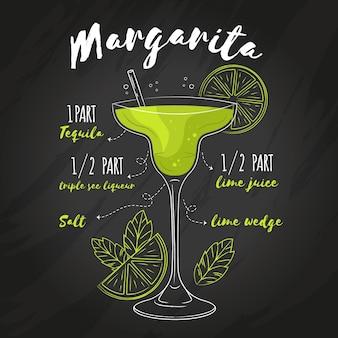 Ricetta cocktail lavagna