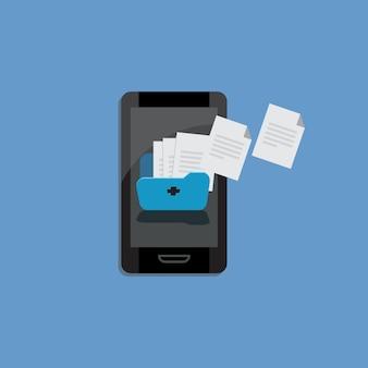 Ricezione e invio dati, trasferimento file dati tra dispositivo