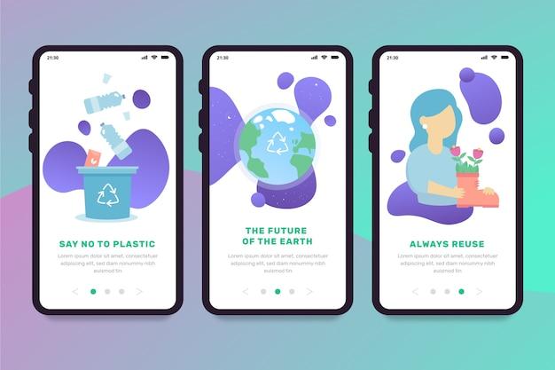 Ricicla le schermate delle app integrate