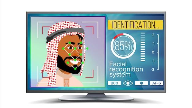 Riconoscimento facciale, identificazione