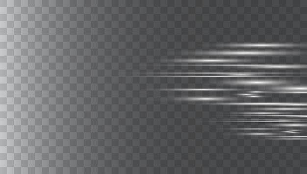 Riflessi di lenti orizzontali