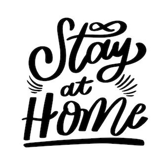 Rimango a casa scritte