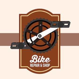 Riparazione e negozio di biciclette