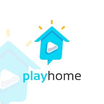 Riproduci il logo home