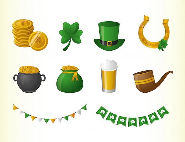 Risorse grafiche relative a happy st patrick day