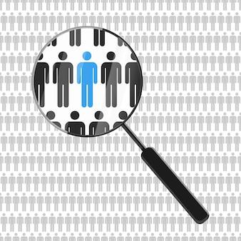 Risorse umane alla ricerca di un dipendente