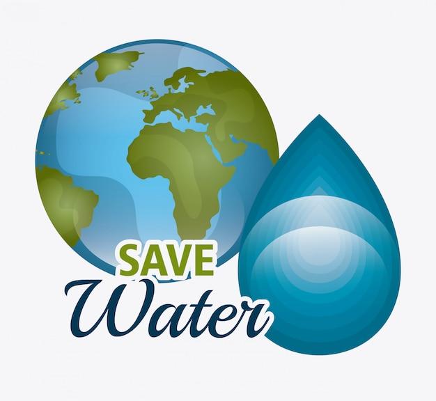 Risparmia ecologia dell'acqua
