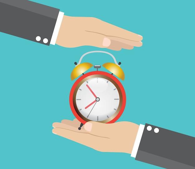 Risparmia il concetto di tempo.