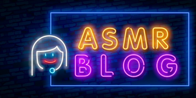 Risposta del meridiano sensoriale autonomo, asmr in neon