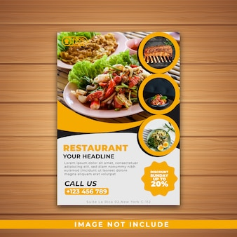 Ristorante flyer