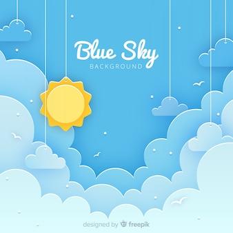 Ritagliare lo sfondo del cielo