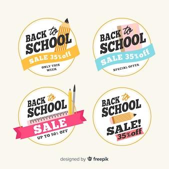 Ritorno a mano alle vendite scolastiche