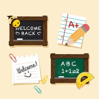 Ritorno a materiale scolastico
