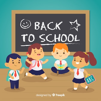 Ritorno a scuola ai bambini