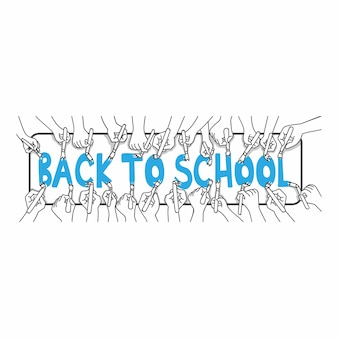 Ritorno a scuola con le mani