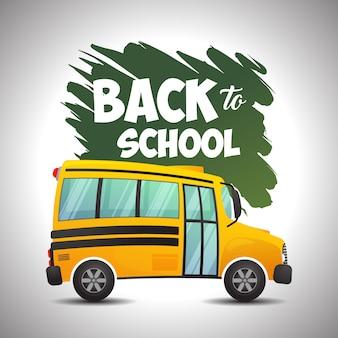 Ritorno al bus della scuola