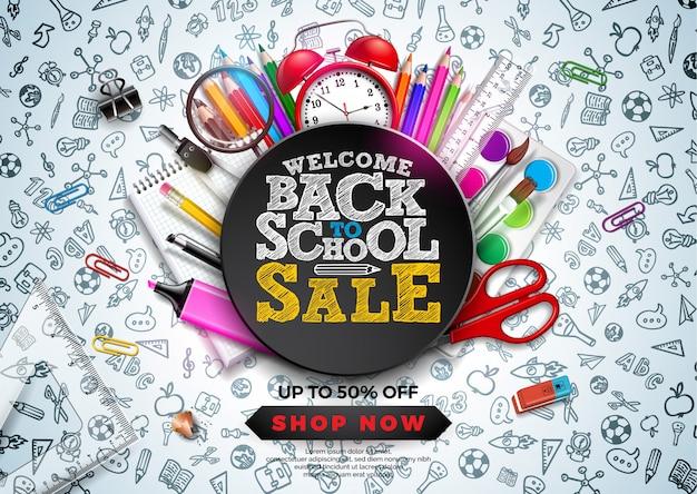 Ritorno al design di vendita della scuola