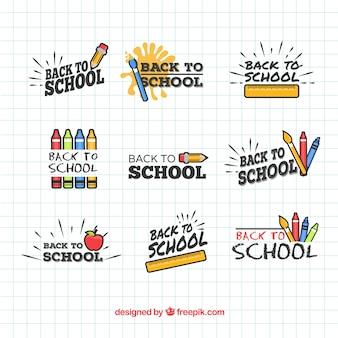 Ritorno alla collezione di badge della scuola