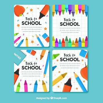 Ritorno alla collezione di carte scolastiche
