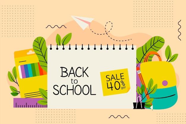 Ritorno alle vendite scolastiche