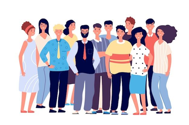 Ritratto di gruppo di dipendenti