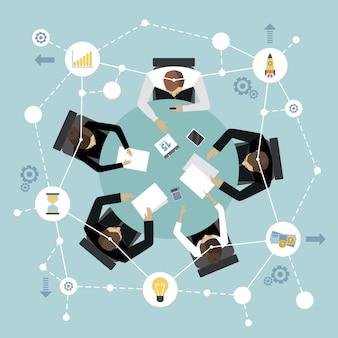 Riunione di gestione aziendale