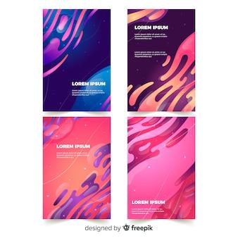 Rivestimenti di design con effetto liquido colorato