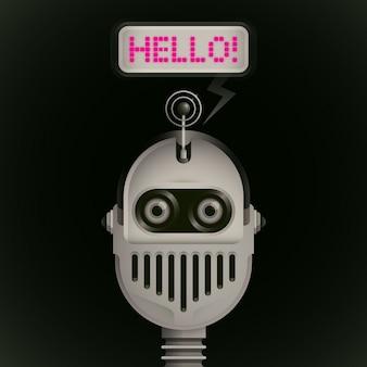Robot comico